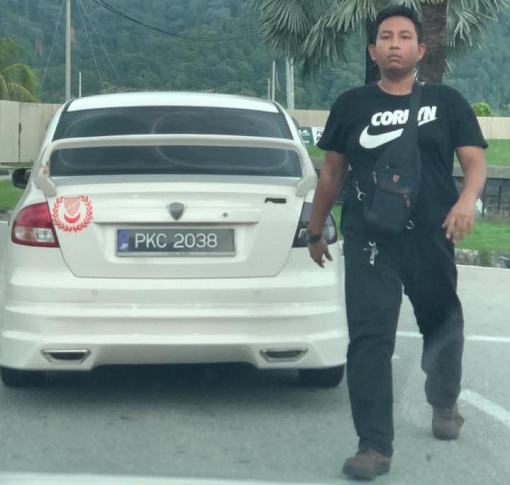 Road Bully - Penang Car Plate