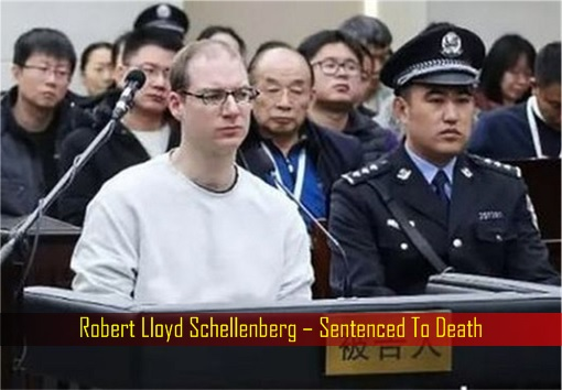Paying The Price For Being The US Bitch - China Sends Canadian To Death For Drug Smuggling