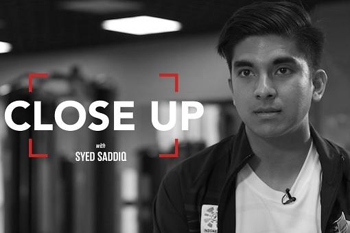 Syed Saddiq Abdul Rahman - Close Up