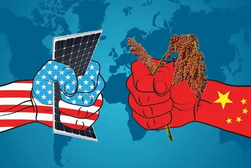 Trade War - US vs China - Electronic vs Agriculture