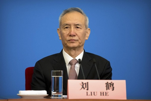 China Vice-Premier Liu He