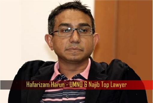 Hafarizam Harun - UMNO and Najib Top Lawyer