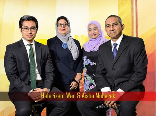 Hafarizam Wan and Aisha Mubarak - Legal Service