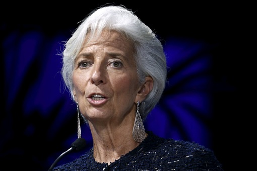 International Monetary Fund - IMF Chief Christine Lagarde