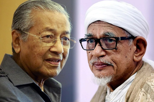 Mahathir Mohamad and Hadi Awang