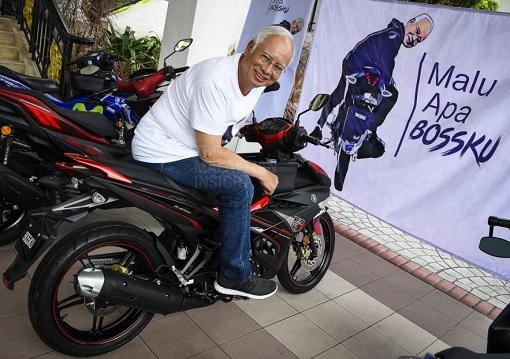 Najib Razak - Malu Apa Bossku