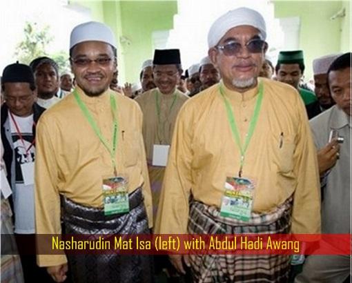 Nasharudin Mat Isa with Abdul Hadi Awang