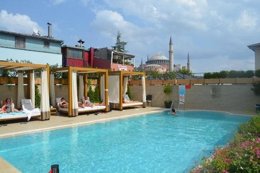 Sura Hagia Sophia Hotel - Swimming Pool - Turkey