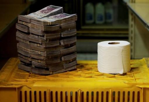 Venezuela Inflation - Toilet Paper