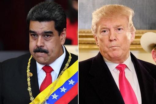 Venezuelan President Maduro - US President Donald Trump