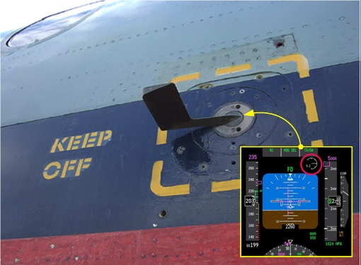 Boeing 737 MAX - Angle of Attack Indicator Sensor