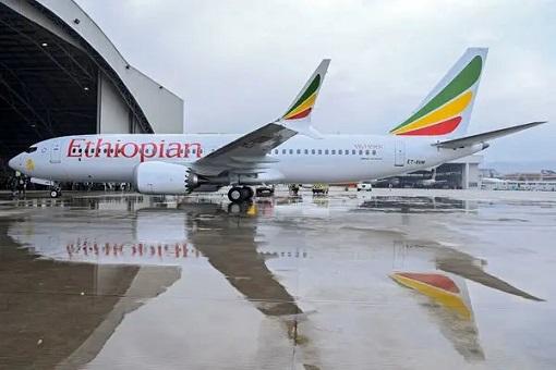 Boeing 737 Max 8 - Ethiopian Airlines
