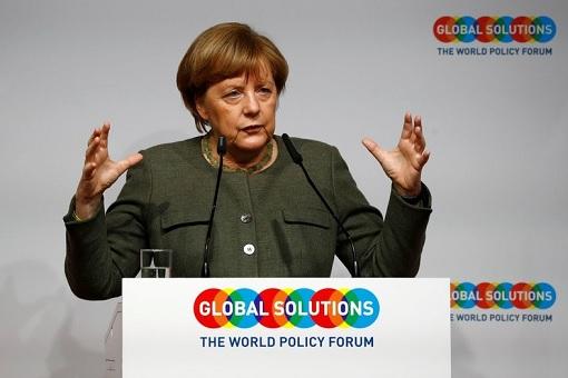 Chancellor Angela Merkel - Global Solutions Summit in Berlin