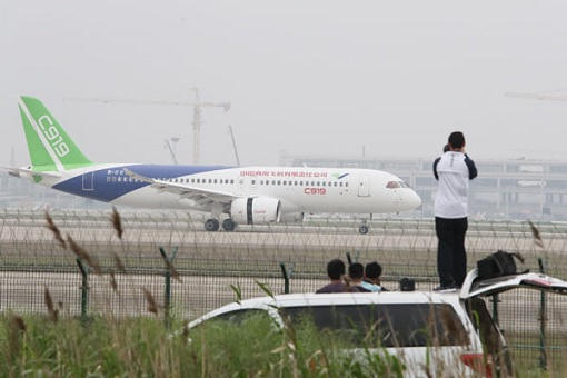 China C919 - On Tarmac
