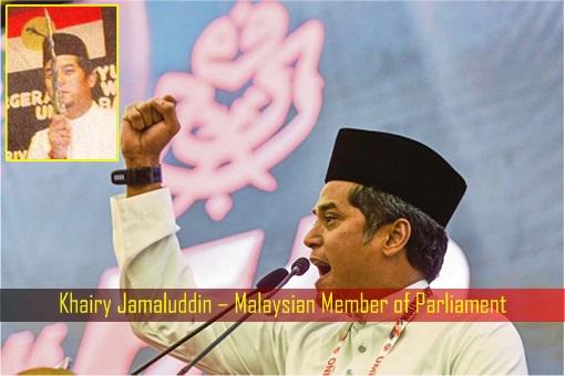 Khairy Jamaluddin – Malaysian Member of Parliament