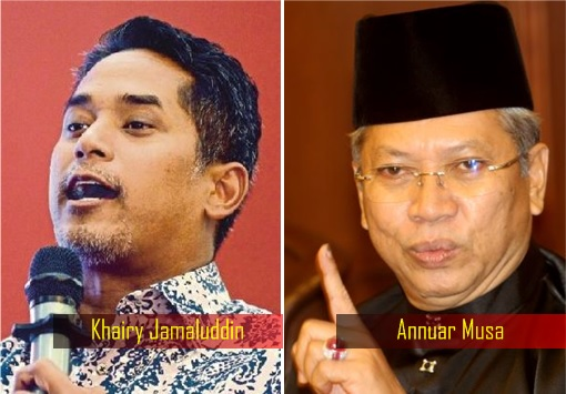 Khairy Jamaluddin - Annuar Musa