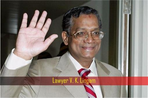 Lawyer V K Lingam