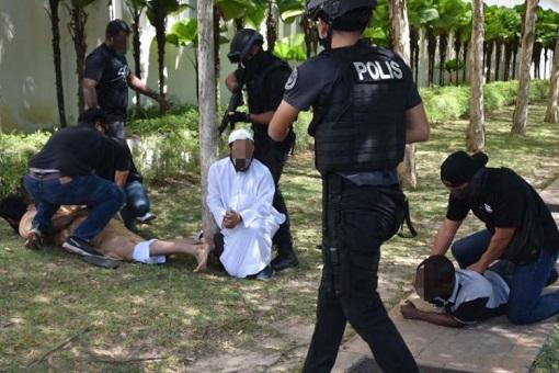 Malaysia Anti-Terror Operation - Egyptians and Tunisians Terrorists
