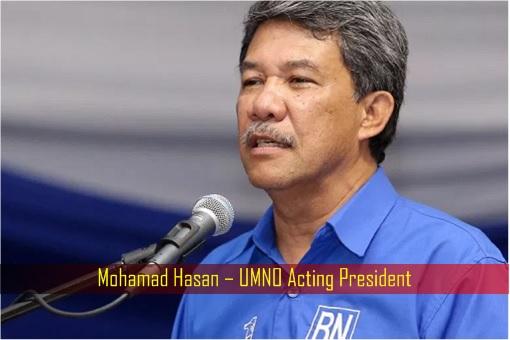 Mohamad Hasan – UMNO Acting President