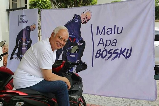 Najib Razak - Malu Apa Bossku - Why The Shame Boss