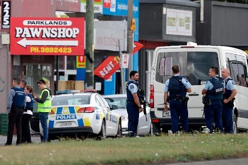 New Zealand Christchurch Mass Shooting - Police 2