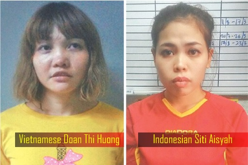 North Korean Kim Jong Nam Assassination - Vietnamese Doan Thi Huong and Indonesian Siti Aisyah