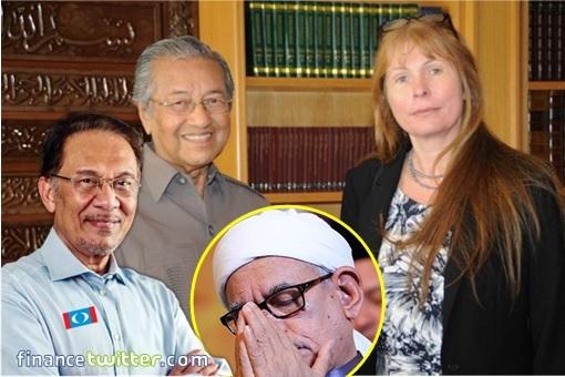 PAS RM90 Million Scandal - Hadi Awang - Anwar Ibrahim, Mahathir Mohamad and Clare Rewcastle Brown