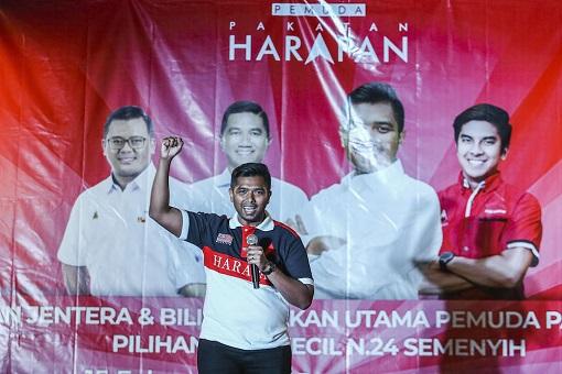 Semenyih by-Election - Pakatan Harapan Candidate Muhammad Aiman Zainali