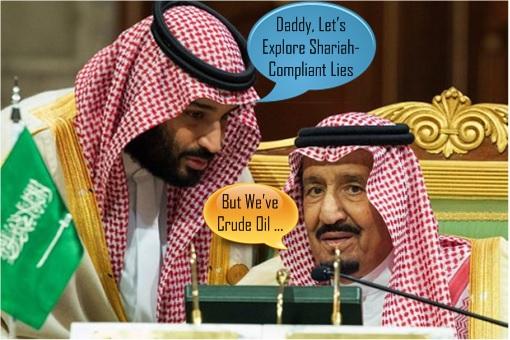 Shariah-Compliant Lies - Saudi Crown Prince