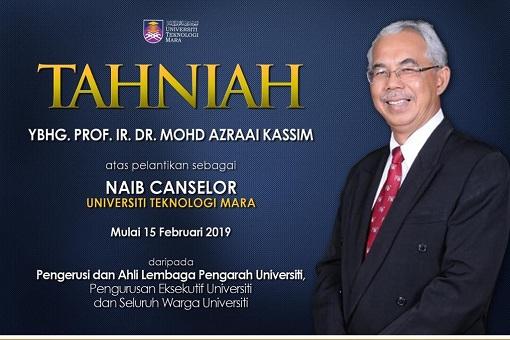 Vice-Chancellor of UiTM - Prof Dr Mohd Azraai Kassim