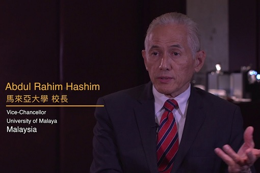Vice-Chancellor of University Malaya - Abdul Rahim Hashim