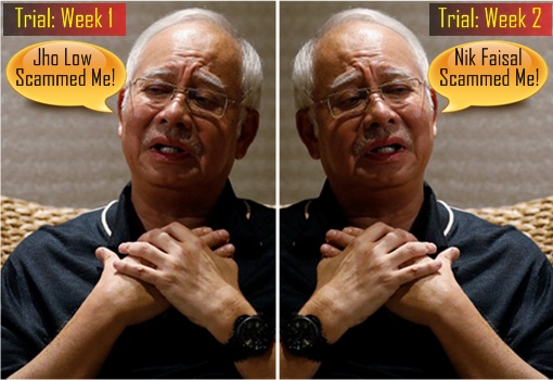 1MDB-SRC Trial - Najib Razak - Week 1 Jho Low Scam - Week 2 Nik Faisal Scam