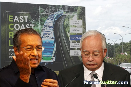 How Najib Almost Got Away With RM21.5 Billion, Until Mahathir Govt Negotiated A New Brilliant ECRL Deal With China