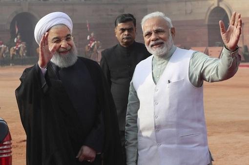 India-Iran Relationship - Prime Minister Narendra Modi and President Hassan Rouhani