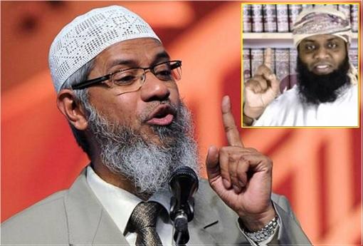 Indian Muslim Preacher Zakir Naik - Sri Lanka Terror Attack Mastermind Moulvi Zahran Hashim