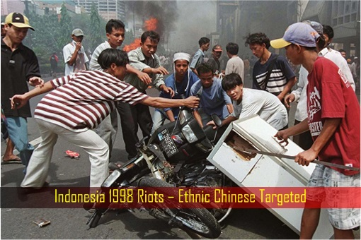 Indonesia 1998 Riots – Ethnic Chinese Targeted