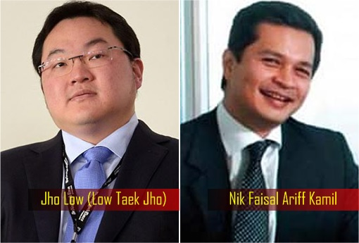 Jho Low and Nik Faisal Ariff Kamil - 1MDB and SRC Scandal