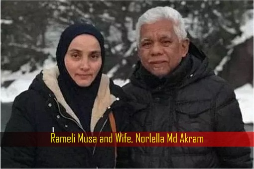 Rameli Musa and Wife Norlella Md Akram