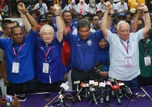 Rantau By-Election - Victory for Barisan Nasional Mohamad Hassan