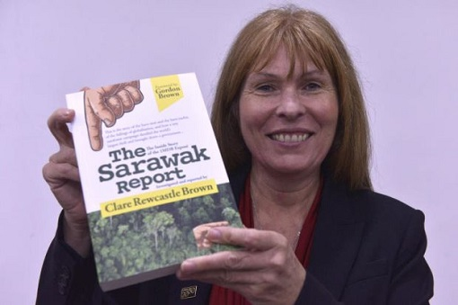 Sarawak Report Editor Clare Rewcastle-Brown - Book Launch