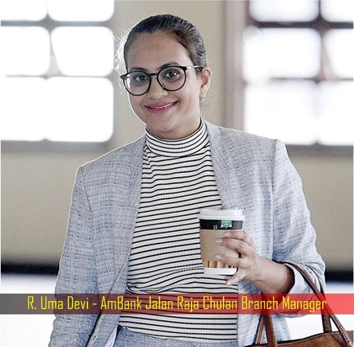 Uma Devi - AmBank Jalan Raja Chulan Branch Manager