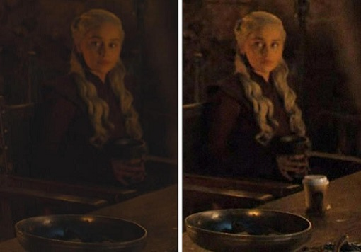 Game of Thrones - Starbucks Coffee Cup - Now You See It Now You Don't