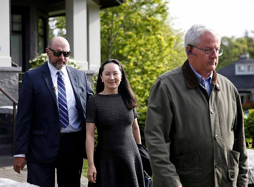 Huawei CFO Sabrina Meng Wanzhou - Private Security in Vancouver