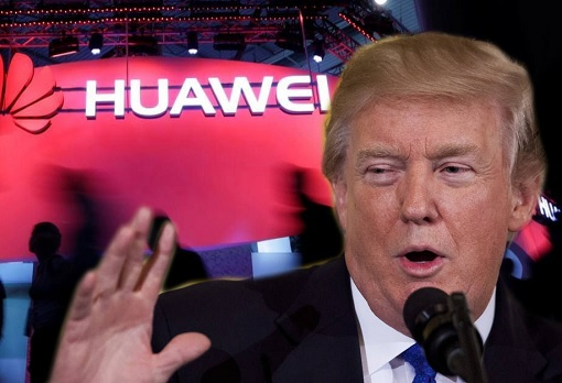 Huawei - President Donald Trump