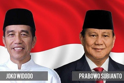 Indonesia 2019 Presidential Election - Joko Widodo and Prabowo Subianto