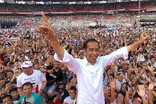Indonesia President Jokowi Joko Widodo - Presidential Election 2019