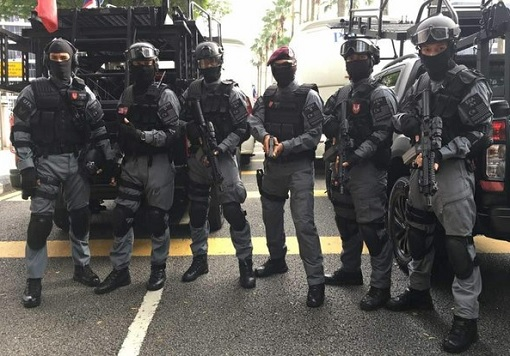 Malaysian Police Special Forces Unit