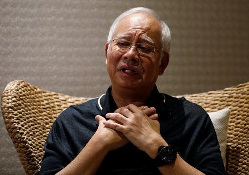 Najib Razak - A Coward