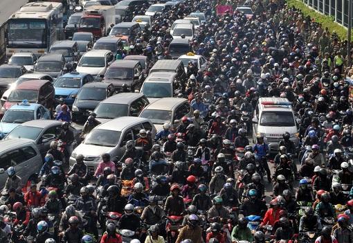 Traffic Congestion - Jakarta Indonesia