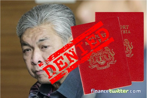 Zahid Hamidi - Denied Passport Return